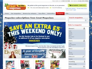 Great Magazines website
