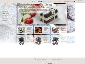 Green & Blacks website