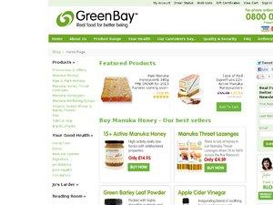 Green Bay Harvest website