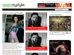 Greenmystyle website