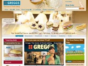 Greggs website
