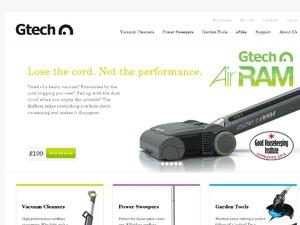 Gtech Online website