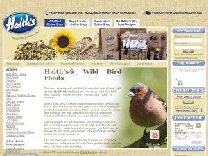 Haiths website