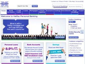 HBOS website