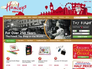 Hamleys website