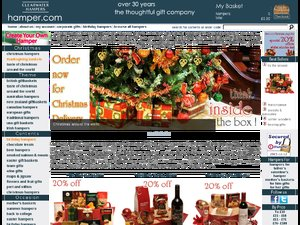 Clearwater Hampers website