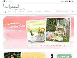 The Handpicked Collection website