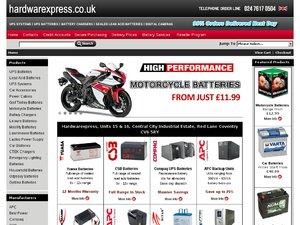 Hardware Express website