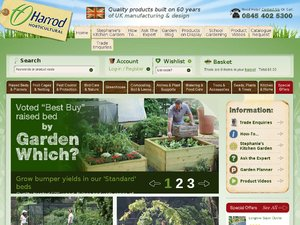 Harrod Horticultural website