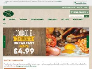 Harvester website