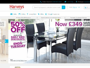 Harveys website