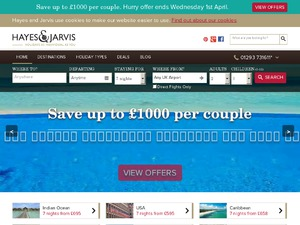 Hayes and Jarvis website