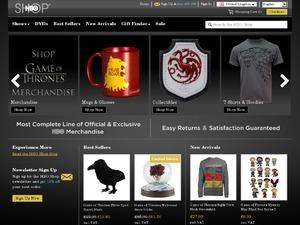 HBO Store website