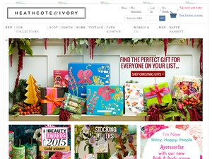 Heathcote and Ivory website