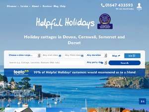 Helpful Holidays website