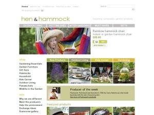 Hen and Hammock website