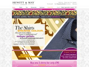 Hewitt and May website
