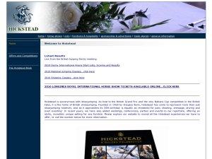 Hickstead website