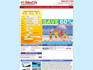 Holiday City Superstore website