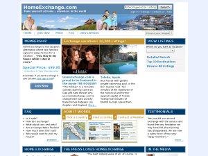 Home Exchange website