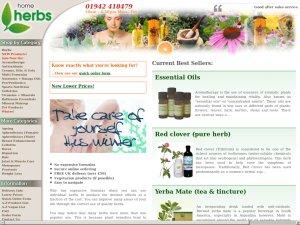 Home Herbs website