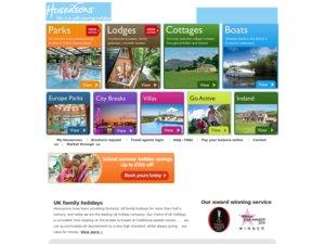 Hoseasons website