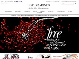 Hot Diamonds website