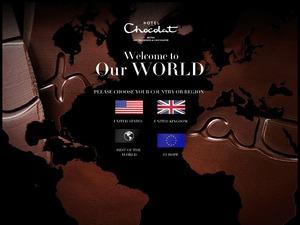 Hotel Chocolat website