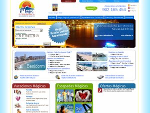 Magic Costa Blanca website