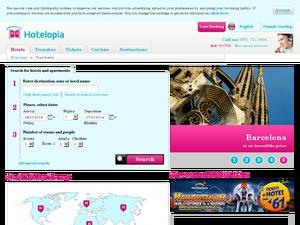 Hotelopia website