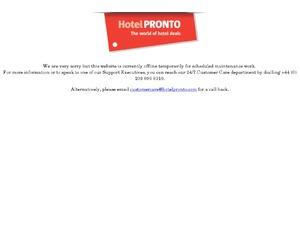 HotelPronto website