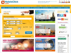 Hotels Click website