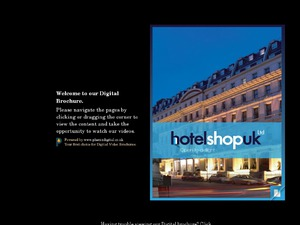 HotelShop website