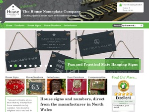 The House Nameplate Company website