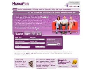 House Pals website