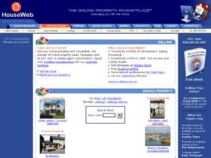 HouseWeb website