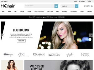 HQhair.com website