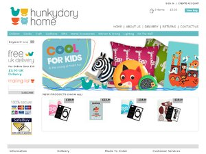 hunkydory home website