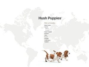 HushPuppies website