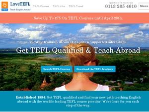 Online TEFL course website