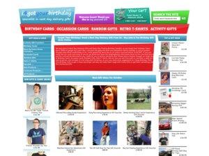 I4Got Your Birthday website