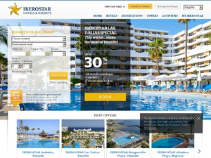 Iberostar Hotels & Resorts website