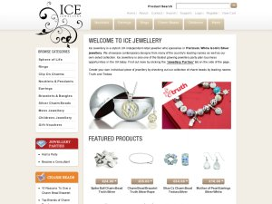 Ice Jewellery website