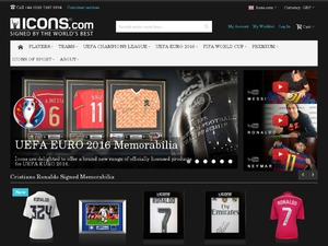 Icons website