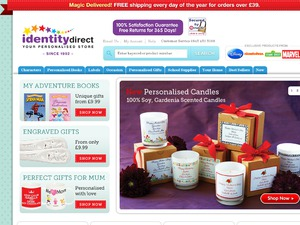 Identity Direct website
