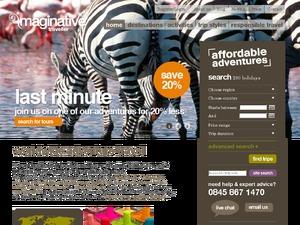 Imaginative Traveller website