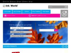 Ink World website