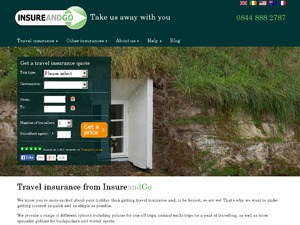 Insure and Go website