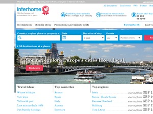 Interhome website