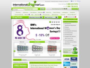 InternationalDrugMart website